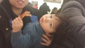 Jordan Eating Bacons