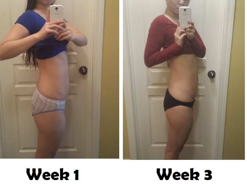 Updated Week 3 Progress Pics
