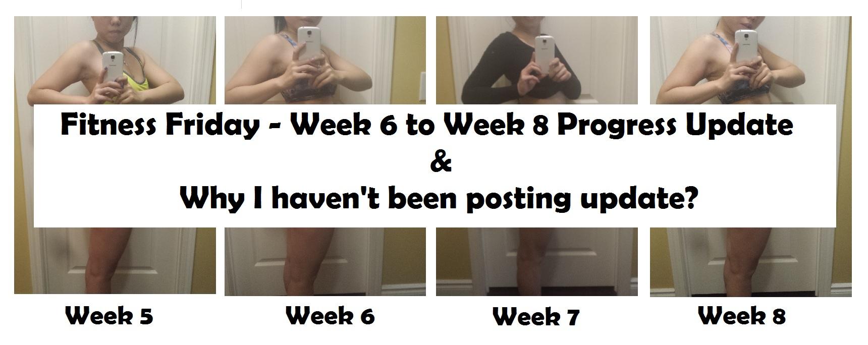 Profile Pics Week 5 to Week 8 FB